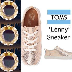 ✔️Out🆕Item • TOMS Rose Gold 'Lenny' Sneaker